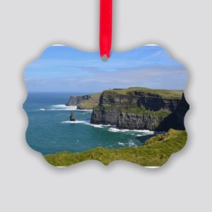 Cliffs of Moher Picture Ornament