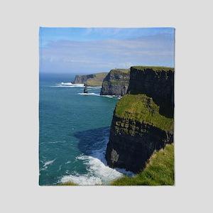 Gorgeous Cliffs of Moher Views Throw Blanket
