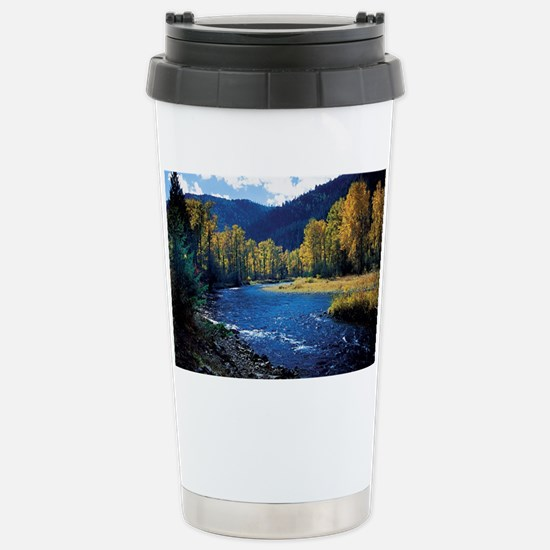 Mountain  Stream Stainless Steel Travel Mug