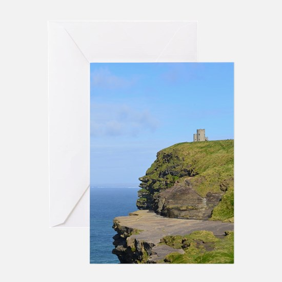 O'Brien's Tower Cliffs of Moher Greeting Card