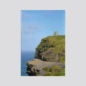 O'Brien's Tower Cliffs of Moher Rectangle Magnet