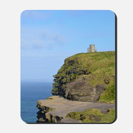 O'Brien's Tower Cliffs of Moher Mousepad