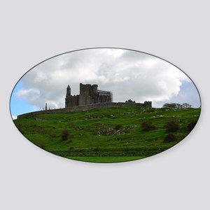 Rock of Cashel Ireland Sticker (Oval)