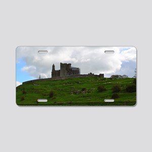 Rock of Cashel Ireland Aluminum License Plate