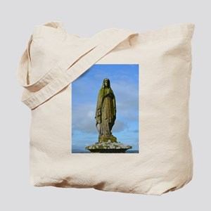 Religious Statue at Rock of Cashel Tote Bag
