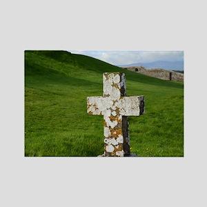 Christian Cross at Cashel Rectangle Magnet