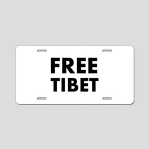 Free Tibet Aluminum License Plate