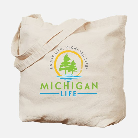 Michigan Outdoors Tote Bag