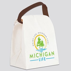 Michigan Outdoors Canvas Lunch Bag