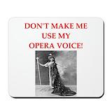 Opera singer Classic Mousepad