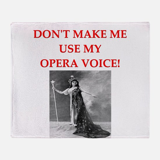 OPERA Throw Blanket