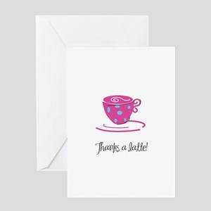 Thanks a Latte! Greeting Cards