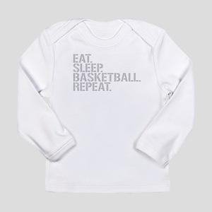 Eat Sleep Basketball Repeat Long Sleeve T-Shirt