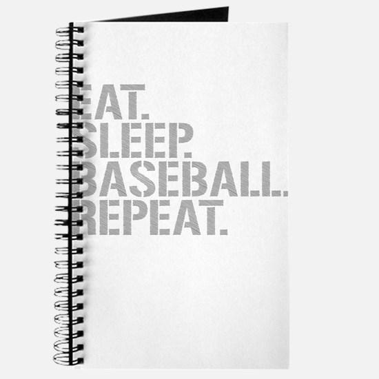Eat Sleep Baseball Repeat Journal