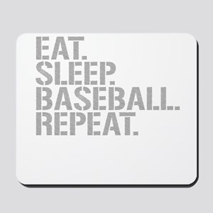 Eat Sleep Baseball Repeat Mousepad