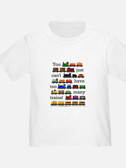 Too Many Trains T