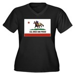 CAL-BRED AND PROUD Plus Size T-Shirt
