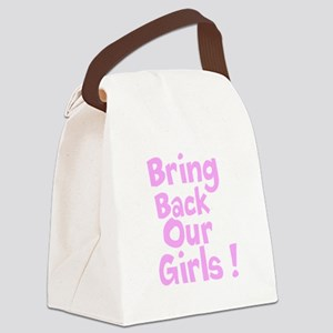 Bring Back Our Girls Canvas Lunch Bag