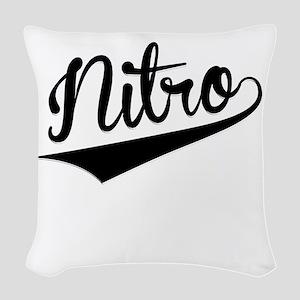 Nitro, Retro, Woven Throw Pillow