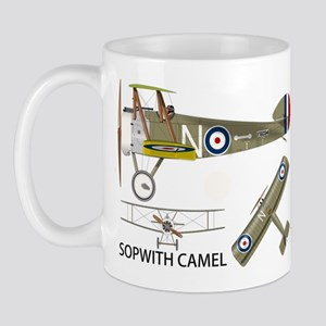 Sopwith Camel Mug Mugs