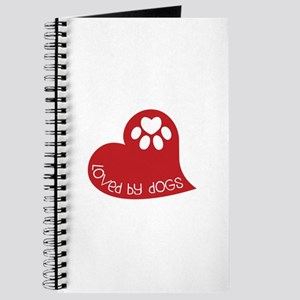 Loved by dogs Journal