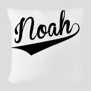 Noah, Retro, Woven Throw Pillow