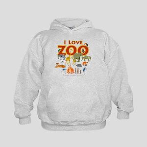 I Love Zoo Hoodie
