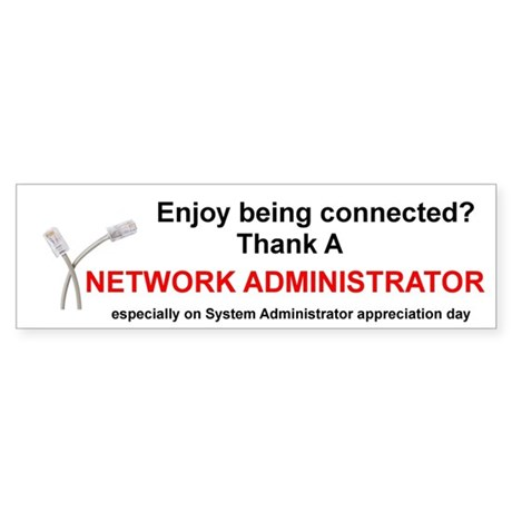 thank a network administrator