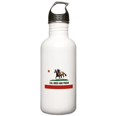 CAL-BRED AND PROUD Water Bottle