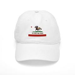 CAL-BRED AND PROUD Baseball Baseball Cap