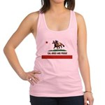 CAL-BRED AND PROUD Racerback Tank Top
