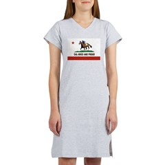 CAL-BRED AND PROUD Women's Nightshirt