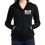 I AM A CAL-BRED Women's Zip Hoodie