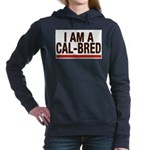 I AM A CAL-BRED Women's Hooded Sweatshirt