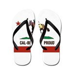 CAL-BRED AND PROUD Flip Flops