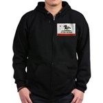 CAL-BRED AND PROUD Zip Hoodie