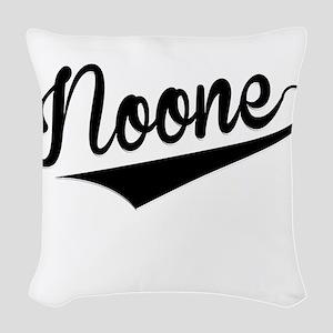Noone, Retro, Woven Throw Pillow