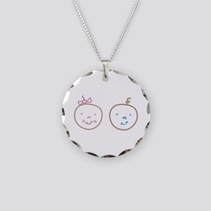 Two Cute Twins Necklace