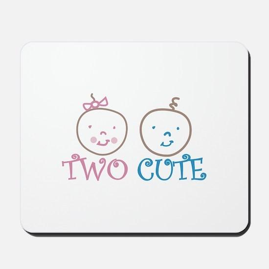TWO CUTE Mousepad