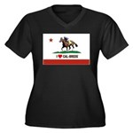 I Heart Cal-Breds Logo Plus Size T-Shirt