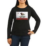 I Heart Cal-Breds Logo Long Sleeve T-Shirt