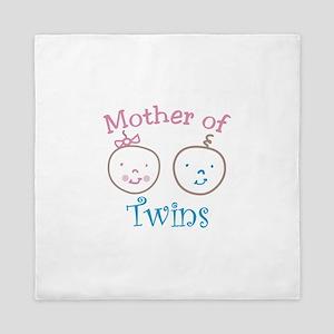 Mother of Twins Queen Duvet