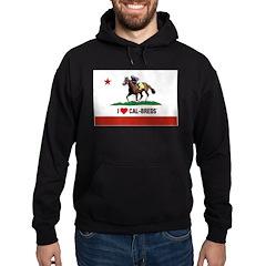 I Heart Cal-Breds Logo Hoodie