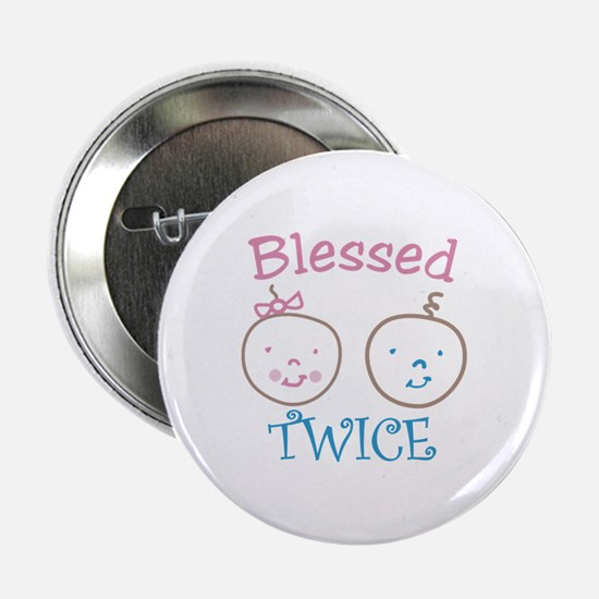 "Blessed TWICE 2.25"" Button"