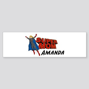 Supermom Amanda Bumper Sticker