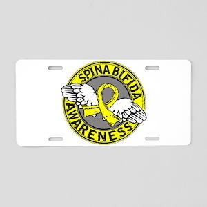 Spina Bifida Awareness14 Aluminum License Plate