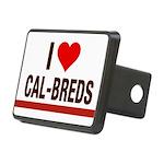 I Heart Cal-Breds no logo Hitch Cover