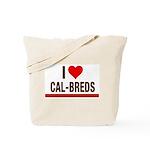 I Heart Cal-Breds no logo Tote Bag