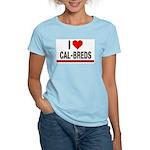I Heart Cal-Breds no logo T-Shirt