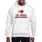I Heart Cal-Breds no logo Hoodie